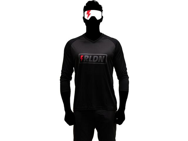 Riesel Design banger 3/4 Jersey, zwart